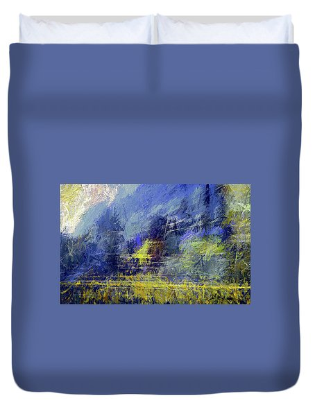 Winter Frosty Morning Duvet Cover