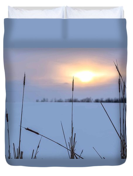 Winter Glow Duvet Cover