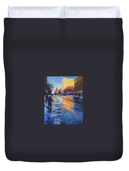 Winter Glow Duvet Cover