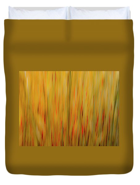 Winter Grasses #1 Duvet Cover