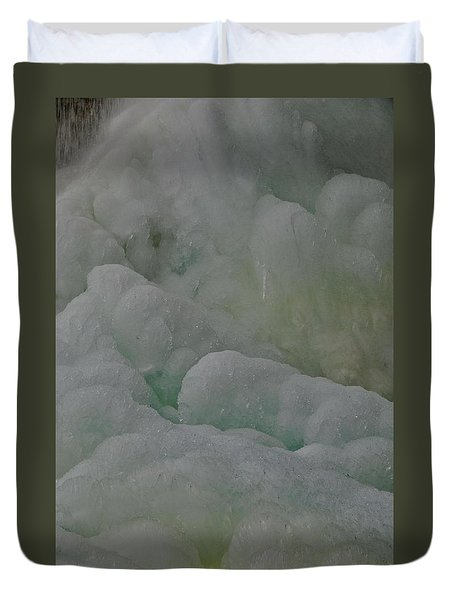 Winter Green Duvet Cover