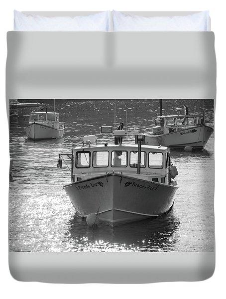 Winter Harbor, Maine  Duvet Cover