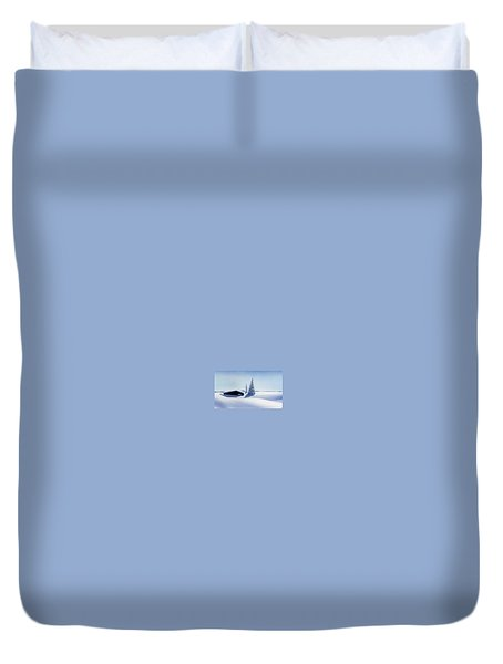 Winter In Austria Duvet Cover