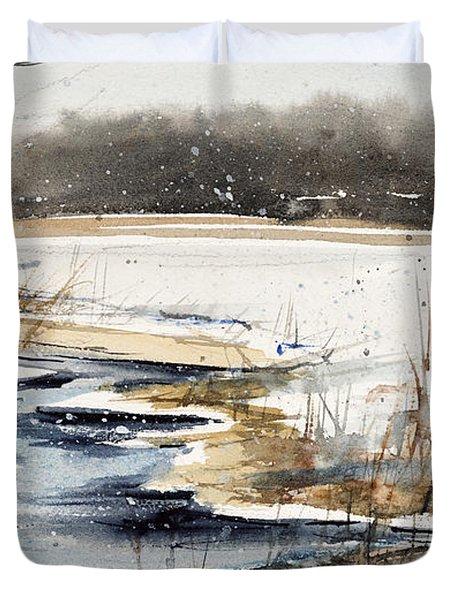 Winter In Caz Duvet Cover