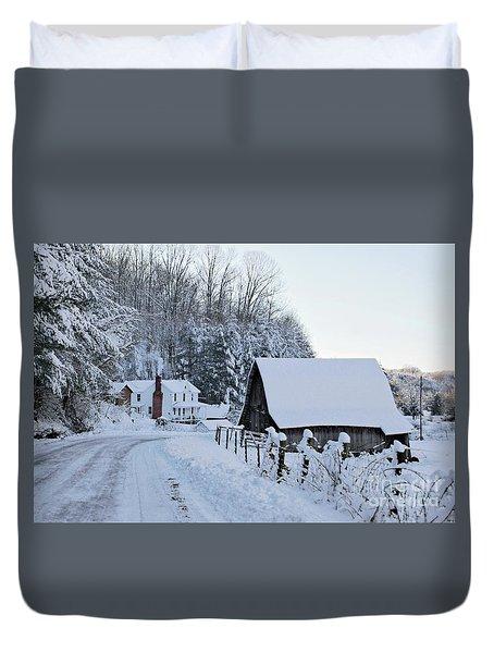 Winter In Virginia Duvet Cover