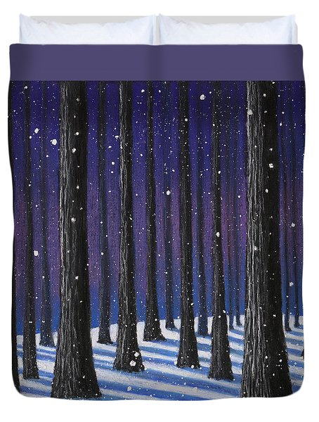 Winter Is Coming 01 Duvet Cover