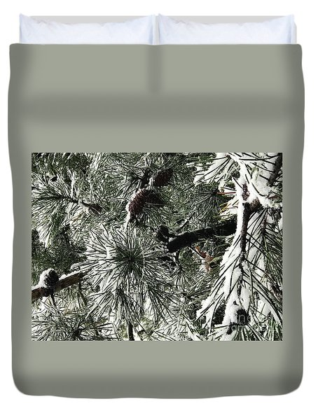 Winter Land  Duvet Cover