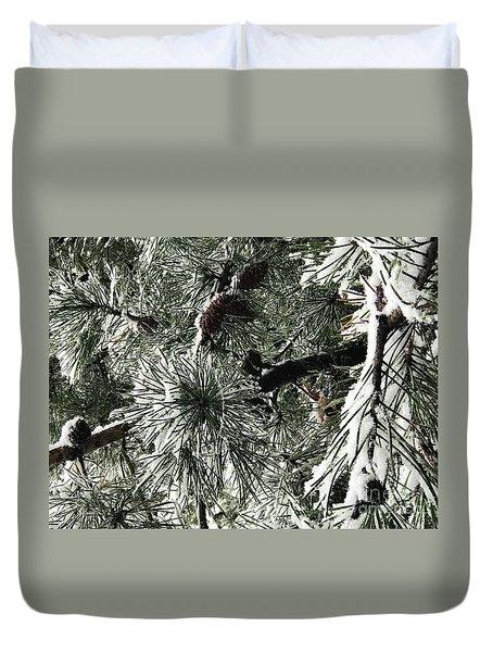 Winter Land  Duvet Cover