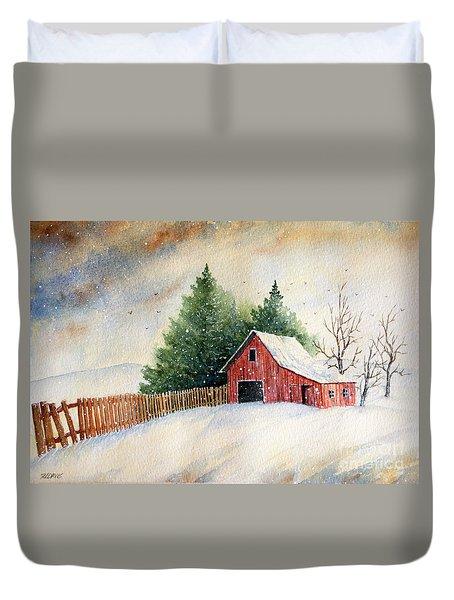 Winter Landscape IIi Duvet Cover