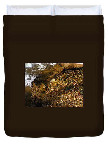 Winter Leaving Duvet Cover