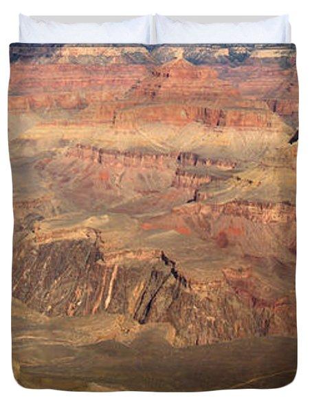 Winter Light In Grand Canyon Duvet Cover