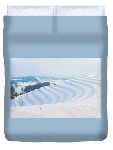 Winter Lines Duvet Cover