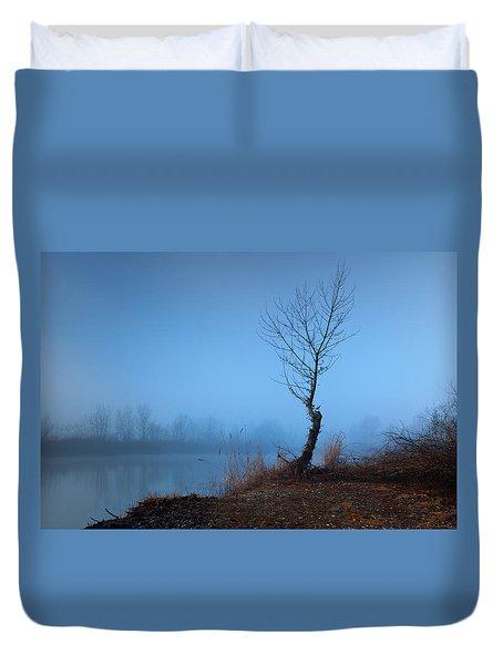 Winter Loner Duvet Cover