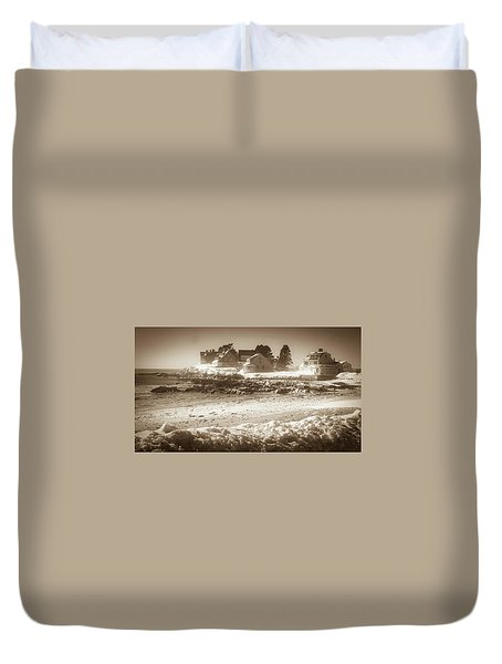 Winter - Lord's Point - Kennebunk Duvet Cover