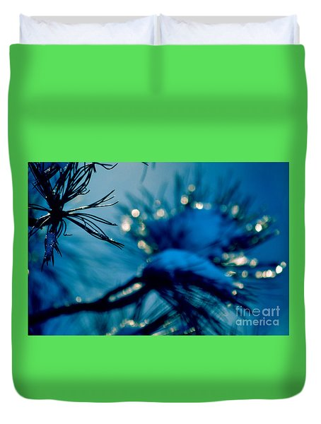 Duvet Cover featuring the photograph Winter Magic by Susanne Van Hulst