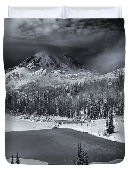 Winter Majestic Duvet Cover