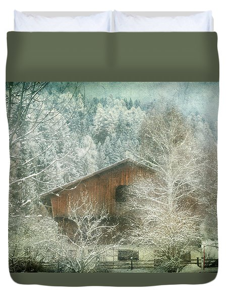Winter Mood Duvet Cover