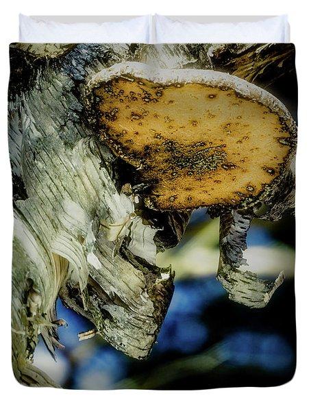 Winter Mushroom Duvet Cover