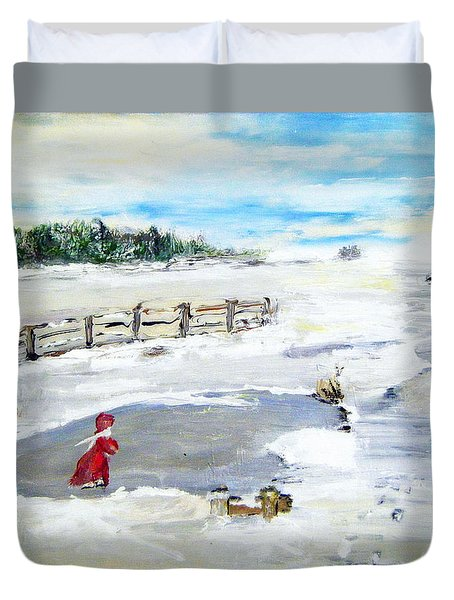 Winter Of Our Youth  Duvet Cover