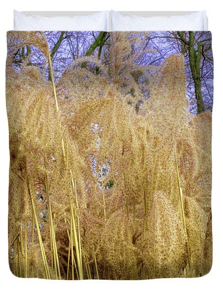 Winter Park Bulrush Duvet Cover