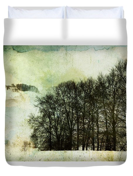Winter Remembrances Duvet Cover
