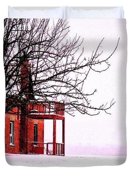 Winter Retreat Duvet Cover