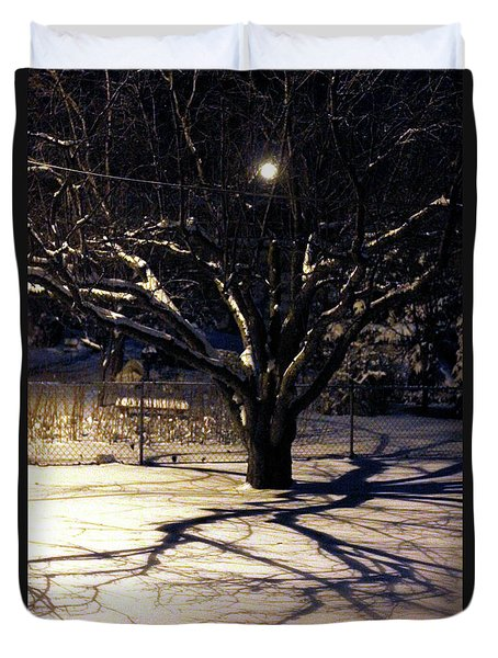 Winter Romace Duvet Cover