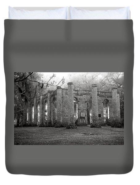 Winter Ruins Duvet Cover by Scott Hansen