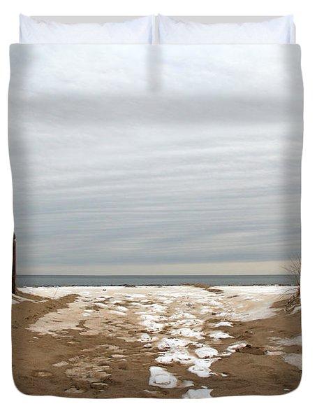 Winter Sands Duvet Cover