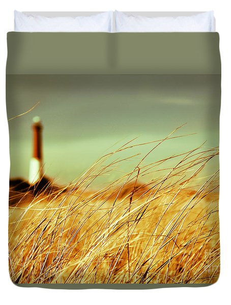 Winter Shore Breeze Duvet Cover
