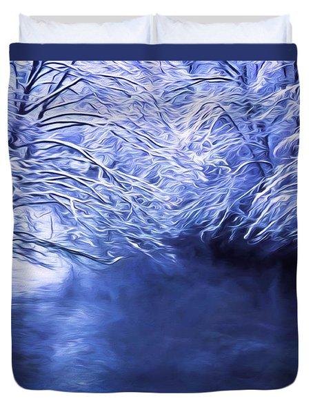 Winter Silence Duvet Cover