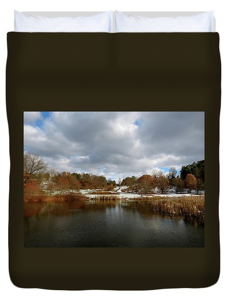 Winter Sky Duvet Cover