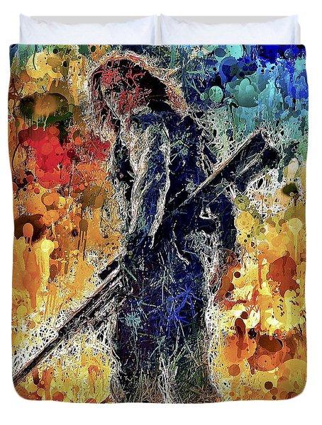 Winter Soldier Duvet Cover