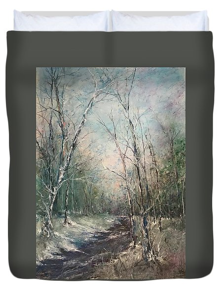 Winter Sojourn Duvet Cover
