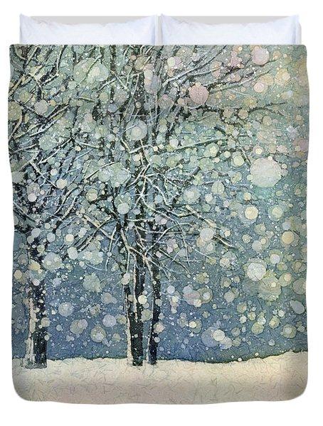 Winter Sonnet Duvet Cover