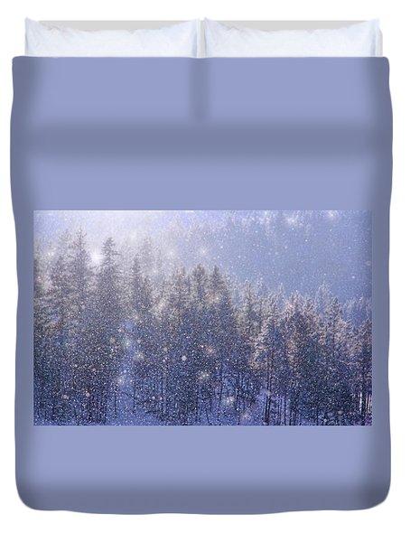 Winter Sparkle Duvet Cover
