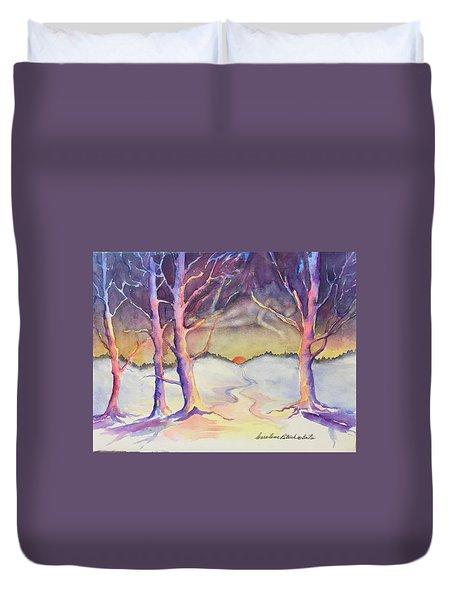 Winter Spirit  Duvet Cover