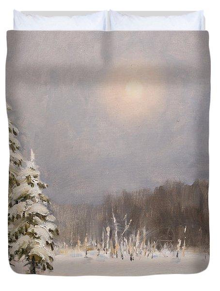 Winter Stillness Duvet Cover
