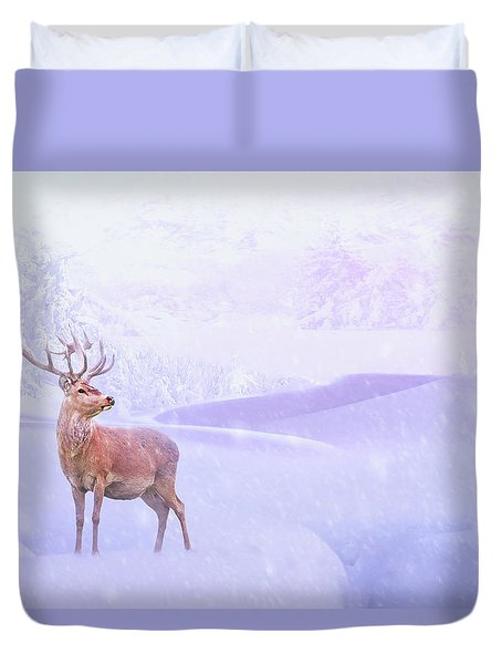 Winter Story Duvet Cover