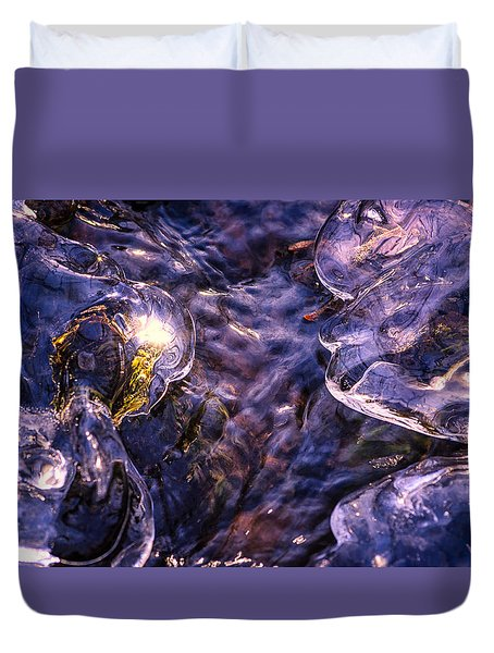 Winter Streams Duvet Cover by Craig Szymanski