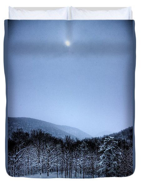 Winter Sun Duvet Cover by Jonny D