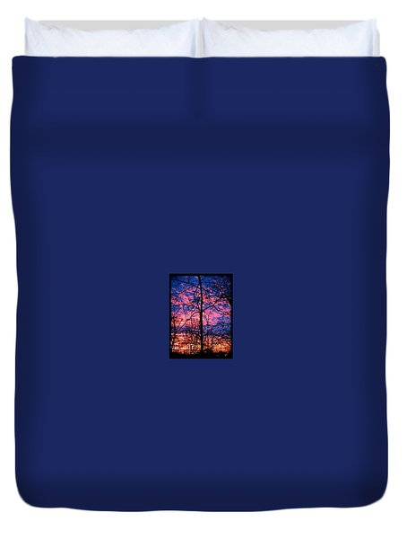 Winter Sunrise Duvet Cover