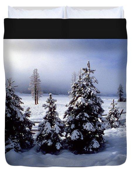 Winter Takes All Duvet Cover