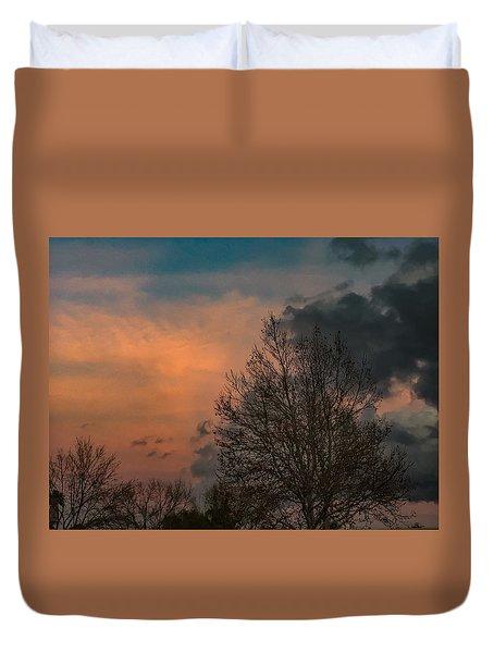 Winter Time Duvet Cover