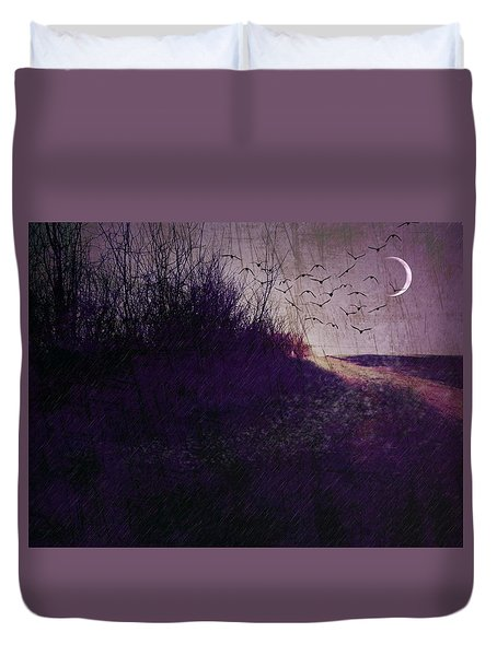 Winter To Spring The Promise Of New Life. Duvet Cover by Michele Carter