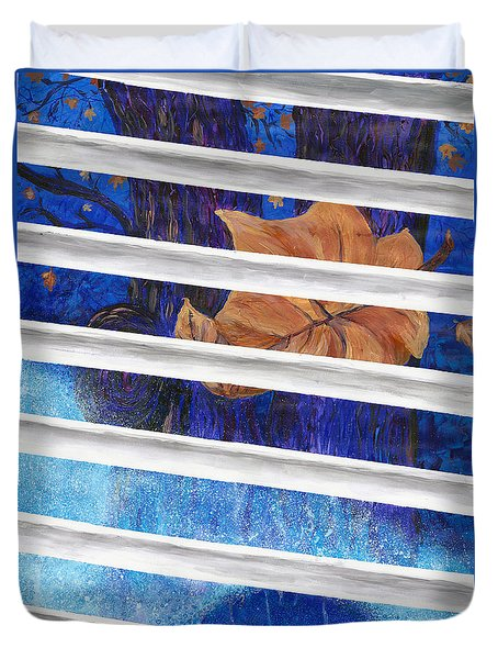 Winter Trees Duvet Cover by Melinda Dare Benfield