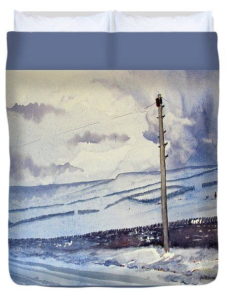 Winter Walkers Duvet Cover