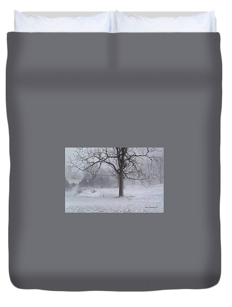Winter Walnut Duvet Cover