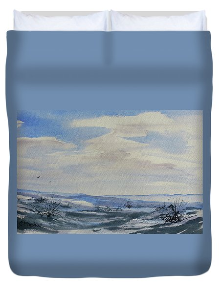 Winter Wilds Duvet Cover