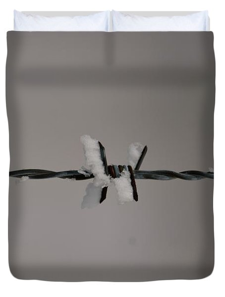 Winter Wire Duvet Cover